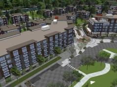 Landmark Development Group, HAL Real Estate, Marquee on Meeker, Kent, Riverbend Golf Complex, Sound Transit, Kent Valley, Green River, Green River Trail, Sechrist Design Associates