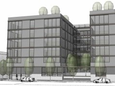 Seattle, David Vandervort Architects, Lake City, Early Design Guidance, design review, mixed-use, Design Review Recommendation