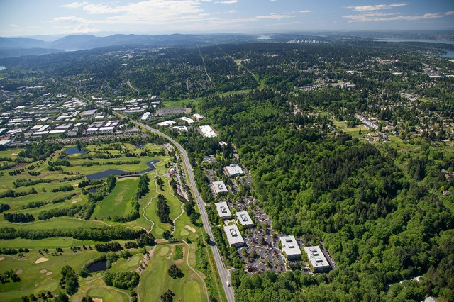 Seattle, Blackstone Group, Preylock Real Estate Holdings, Broderick Group, Facebook, Willow Creek Corporate Center, Redmond, HFF