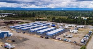 Marcus & Millichap, Freedom Self Storage. Shelton, National Self Storage Group, Seattle, Union, Allyn Grapeview, West Olympia, Washington