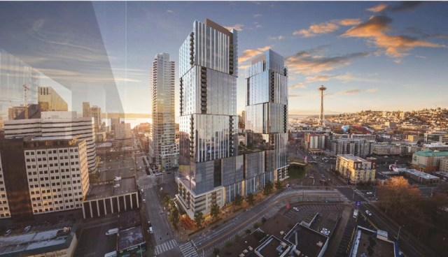 Seattle, Onni Group of Companies, Clise Properties, Early Design Guidance, Block V, Denny Triangle, Holland Partner Group