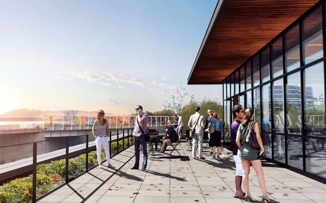 Seattle, Meriwether Partners, Weinstein A+U, Waterfront Seattle, Olympic Sculpture Park, adaptive reuse, Ainsworth & Dunn building