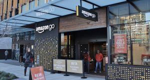 Real Deal, Amazon, Cheetos, Aleppo, Main & Main, San Francisco, Zippin, Sears & Roebuck, Wall Street Journal, Riyadh,