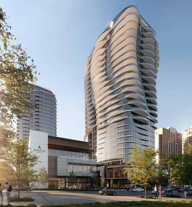 Fortress Development, InterContinental, Seattle, Weber Thompson, Hirsh Bedner Associates, Rennie Marketing, Real Retail, Pacific Northwest, Bellevue