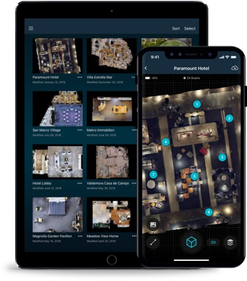 Matterport, Google, Apple, Cortex, Planetarium Hamburg, Refinery 29, National Museum of Iraq, Cornwall Hotel and Spa,Taliesin West