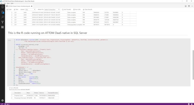 ATTOM Data Solutions, Azure, AWS, DaaS, Azure SQL Database, Netflix, CRE Data Exchange
