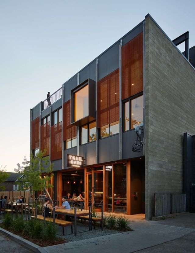 Ballard, Seattle, Graham Baba Architects, Trailbend Taproom, Pacific Northwest, Klotski Building, The Yard, The Dray, Pacific Ocean