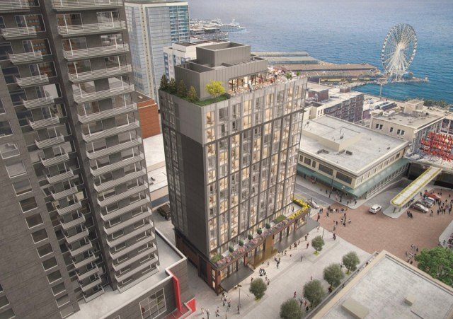 Seattle, Hahn Building, Pike Place Market, Stellar Holdings, Green Tortoise, Ankrom Moisan, Graham Baba Architects, HEWITT, Downtown Design Review Board