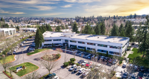Newmark Knight Frank, Kirkland, Kirkland 405 Corporate Center, TA Realty, SmartCap Group, Seattle, Oculus VR, Facebook, Google, Evergreen Hospital