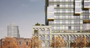 Skanska, Belltown. VIA Architecture, GGLO, Grzywinski + Pons, Downtown Design Review Board,