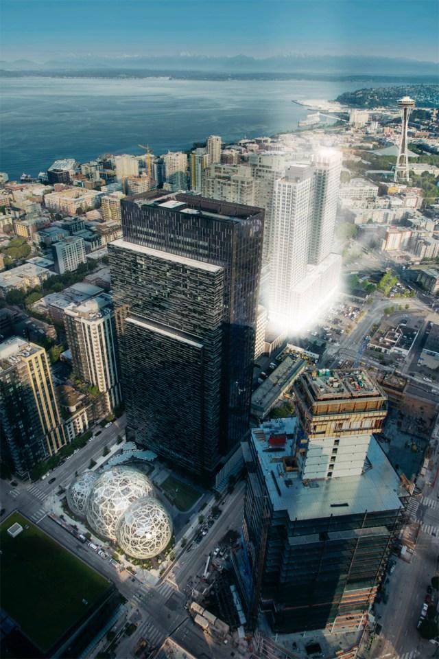 Seattle, Concord Pacific, Amazon, HB Management, Kidder Mathews, Paragon Real Estate Advisors, Apple, Seattle House Team