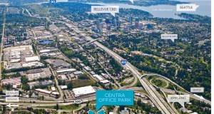 Swift Real Estate Partners Bellevue 520 Corridor Office Park Bel Kirk 520 Centra Office Park Schnitzer West RMA Bellevue Newmark Knight Frank JLL