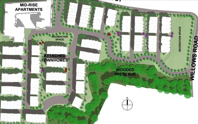 Seattle, TRI Pointe Group, Willows Road, Facebook, Redmond, Eastside, Proctor Willows property, Tiscareno Associates, Bellevue