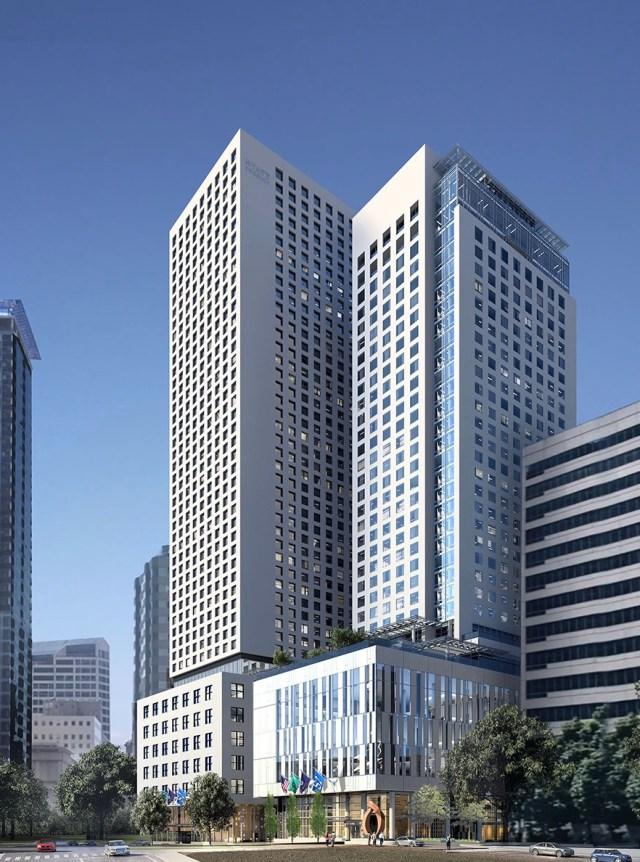 Seattle, MZA Architecture, Ming Zhang, MG2, Callison, R.C. Hedreen, Washington State Convention Center, Cloudvue, Amazon, Bellevue