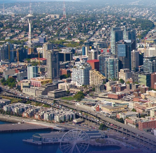 Seattle, Broderick Group, Skanska, 2+U, Kilroy, Apple, Google, Facebook, Lakefront Blocks, Third Quarter 2019 Seattle Office Market Overview
