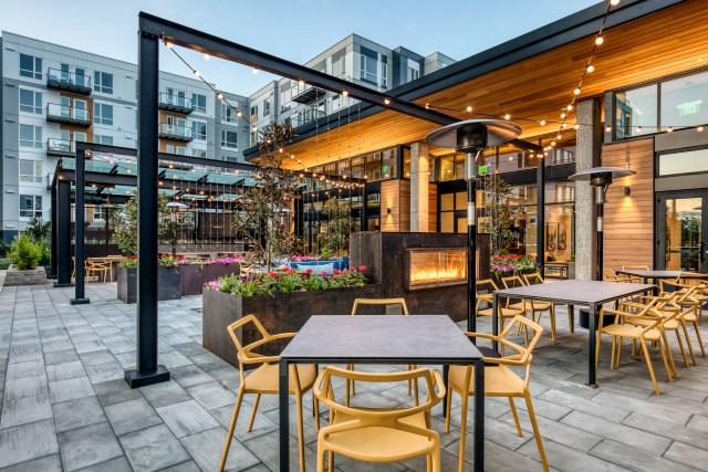 Hyde Square, Carmel Partners, Robin Chell Design, Ankrom Moisan Architects