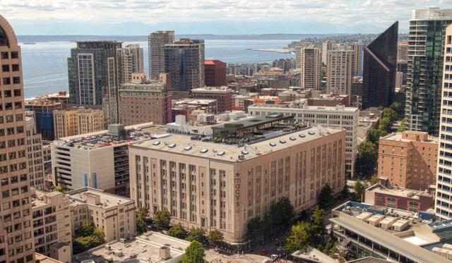 Macy's, Starwood Capital Group, 300 Pine, Seattle, Amazon