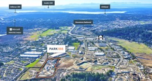 CBRE, Redmond, Amazon, Google, FedEx, USPS, Cadman Gravel, Park 188