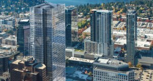 Amazon, Vulcan Real Estate, 555 108th, Bellevue, Redmond Town Center, Microsoft, NKF