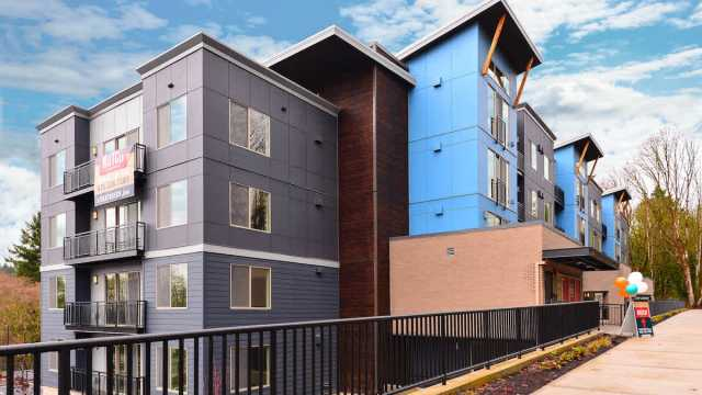 Equity Residential, Notch Apartments, Goodman Real Estate, Newcastle, Seattle, Lane Apartments, Mark on 8th