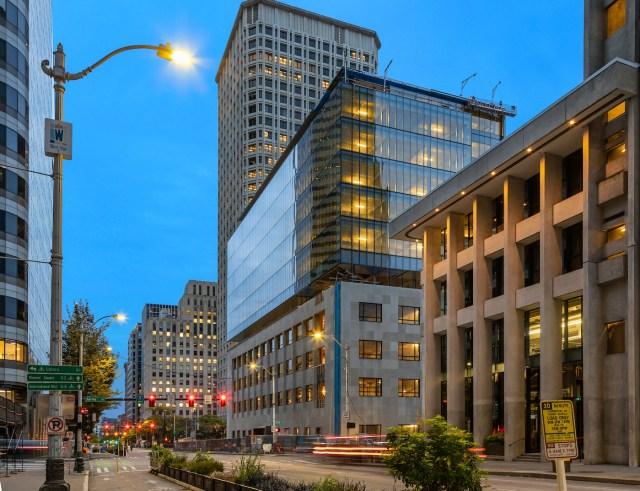 Seattle, Federal Reserve Building, Martin Selig Real Estate, Perkins&Will, Federal Reserve Bank