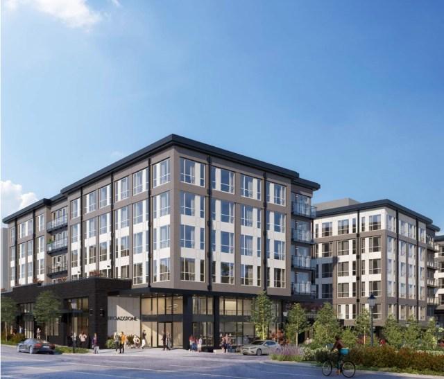 Office Depot, Alliance Residential, Broadstone NE, Seattle, Encore Architects
