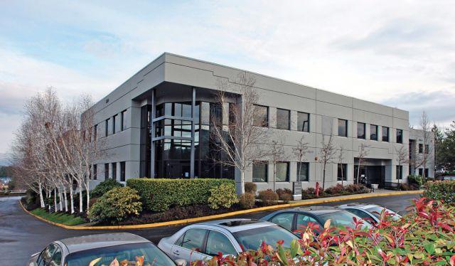 Redmond East Microsoft Kennedy Wilson CBRE Bio-Rad Laboratories Spiration Compass Group USA Eastside office market