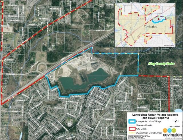 Oakpointe, LakePointe Covington, Covington, Hawk Family Properties, Lakeside Gravel Mine