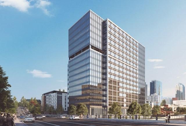 BelleVista Bellevue Tishman Speyer PMF Investments Newmark Sheraton Bellevue CollinsWoerman Turner Construction