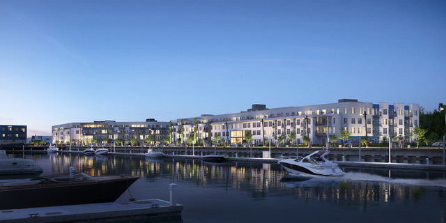 SeaLevel Properties, Gracorp, Waterfront Place Apartments, Everett, Fisherman's Harbor, Port of Everett
