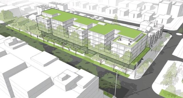904 NW Market, Public47 Architects, FA Johnson Development, Ballard
