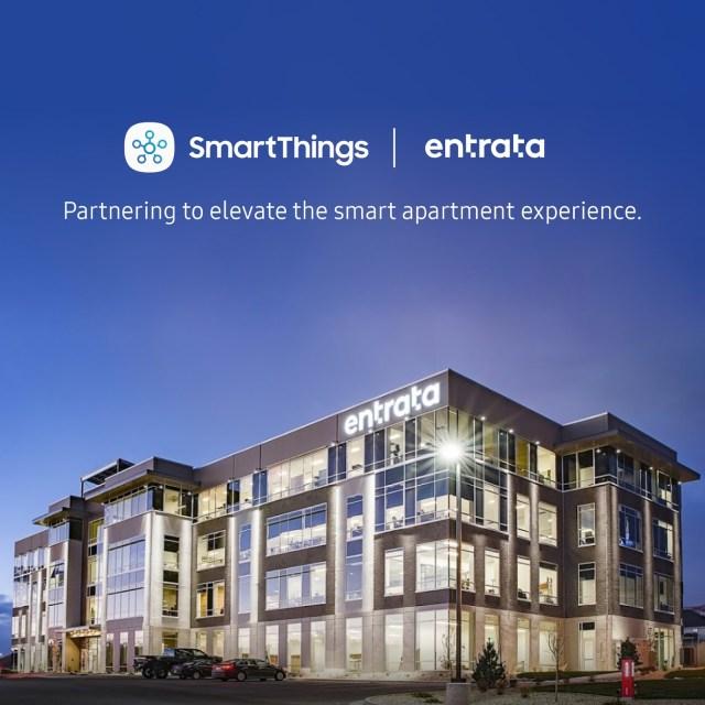 Entrata, Samsung SmartThings, San Francisco, Seattle, Los Angeles
