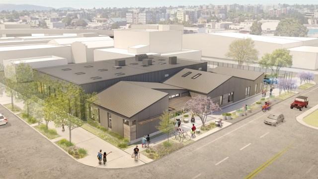 Ballard Food Bank, Spectrum Development Solutions, Graham Baba Architects, Seattle, Ballard