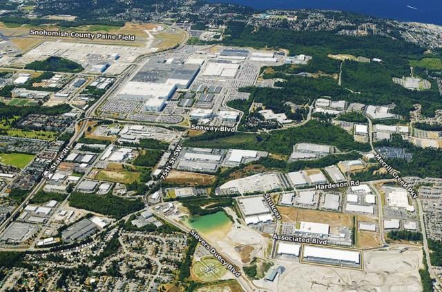 LBA, PPF, Everett commerce Center, BentallGreenOak, Everett, Boeing, CBRE Global Investors