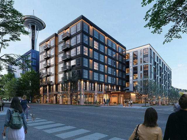 MainStreet Property Group, Seattle Center, Seattle, Grousemont Associates, 223 Taylor, Siteline, Encore Architects