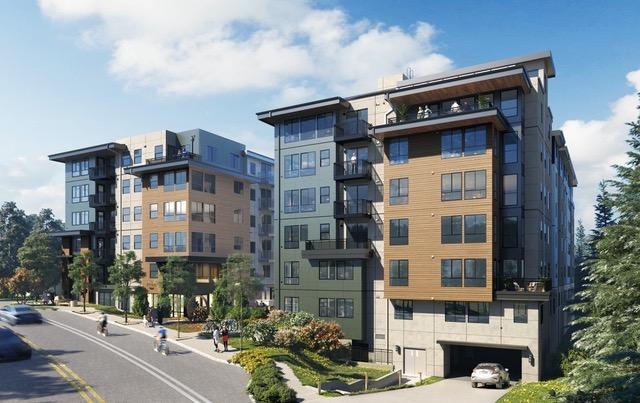 MainStreet Property Group, The Pine, Kirkland, DAHLIN, GenCap, Blueline, Graphite