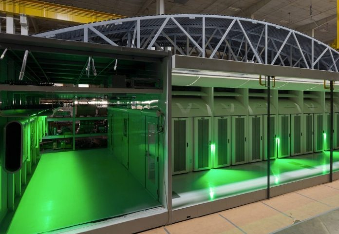 data center Skanska
