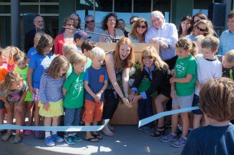 Cove School Opening - Ribbon Cutting