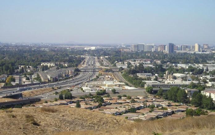 San Jose CA Highway 87
