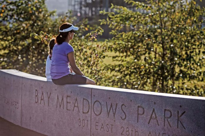 Bay Meadows Park | Courtesy of Wilson Meany