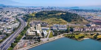 SingHaiyi Group, Ocean Landing, Woods Bagot, Candlestick Park, Thomas Mellon Circle, San Francisco, Bay Area