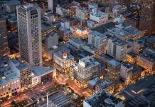 San Francisco, Bay Area, 300 Grant, North Financial District, Chinatown's Dragon Gate, Union Square,