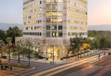 AEW Capital Management, San Jose, Four Corners Properties, Rockwood Capital, Silicon Valley, Boston Properties, Colliers, 303 Almaden