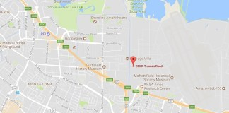 Mountain View, NASA Ames Research Center, 230 RT Jones Road, Orion Park, Google, Bay View, U.S. Army Corps of Engineers Sacramento District, Alphabet, Planetary Ventures