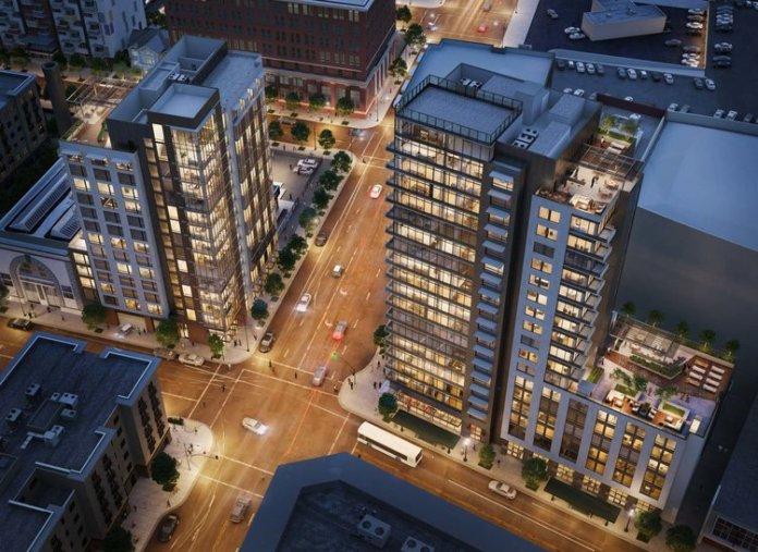 Lane Partners, Oakland Tower, Menlo Park, Bay Area, Brick LLP, 2016 Telegraph Ave. building, Oakland, East Bay