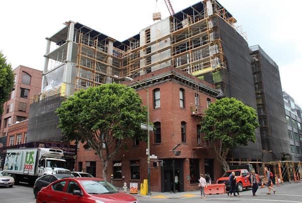 Swinerton, Grosvenor Americas, Grosvenor Group, Jackson Square district, San Francisco, Bay Area, LEED® Gold, Handel Architects, Old Ship Saloon,
