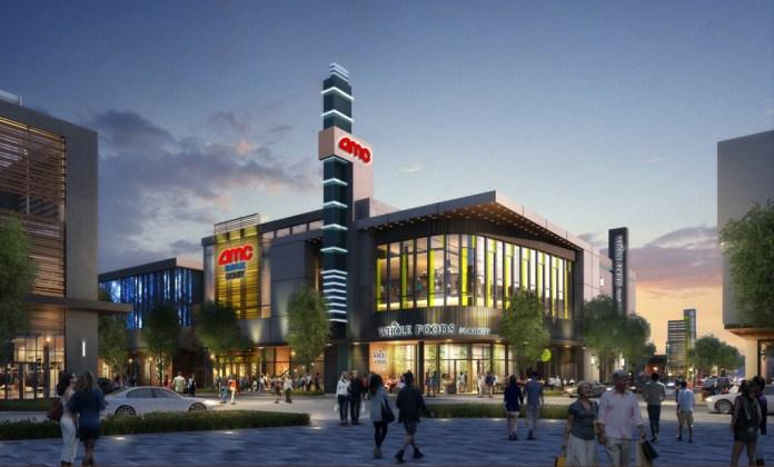 CityLine Sunnyvale, AMC Theaters, Whole Foods Market, Murphy Avenue, Redwood Square, Hunter Storm, STC Venture, Sares Regis Group Northern California,