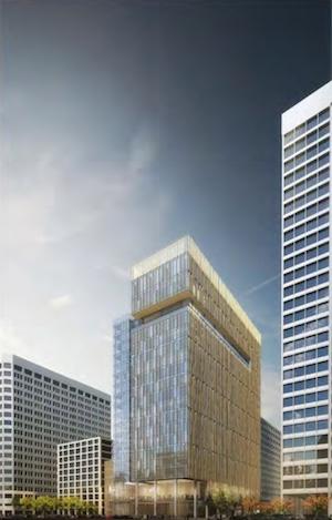 CIM Group, 2 Kaiser Plaza, Central District Urban Renewal Plan, Swig Company, Lake Merritt, City's Green Building Ordinance