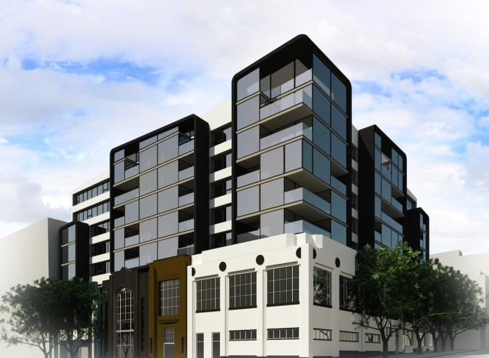 Hyde Street Studios, Tenderloin District, Green Day, Tupac, Santana, Grateful Dead, Wally Heider Recording, AMC Van Ness movie theater, 24 Hour Fitness, Philz Coffee, Costa Brown Architecture, North of Market Residential Special Use District