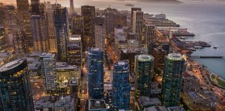 LUMINA, San Francisco's SoMa district, Salesforce Transit Cente, The Embarcadero, Tishman Speyer, AT&T Park, Ferry Building, Woodlands Market, San Francisco Bay Area, West Coast, Polaris Pacific, LUMINA Sales Gallery, Folsom Street Tower